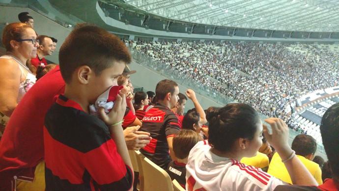 Tiago Rebouças, torcedor, Flamengo, Ceará (Foto: Crisneive Silveira)