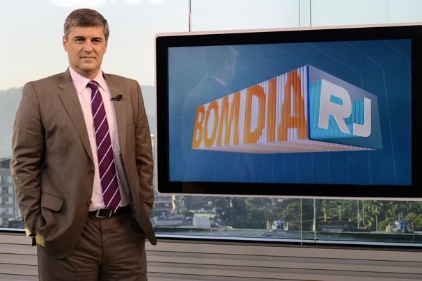 Flávio Fachel assume a apresentação do Bom Dia Rio a partir de segunda, dia 10 de junho (Foto: Raphael Dias/Globo)