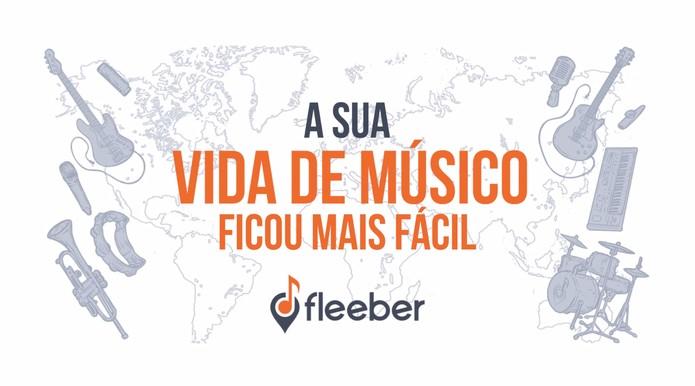 Fleeber ajuda artistas a encontrar parceiros musicais (Foto: Reprodução/Fleeber)