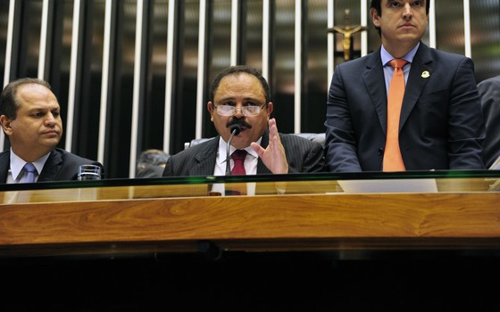 Waldir Maranhão (PP-MA), presidente interino da Câmara (Foto: Agência Câmara dos Deputados)