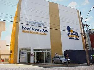 Fachada da Maternidade Gota de Leite (Foto: Sergio Pierri/Prefeitura de Araraquara)