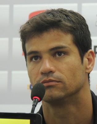 Rogério lateral lateral-esquerdo Criciúma (Foto: João Lucas Cardoso)