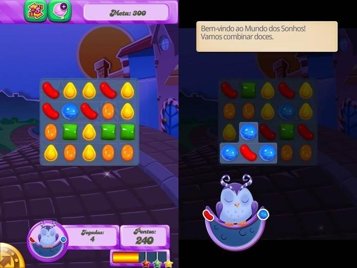 Candy Crush Saga ganhou uma nova expansão (Foto: Reprodução / TechTudo)