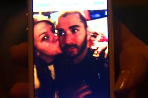 Selfie benzema (Foto: Reprodução/ EPTV)