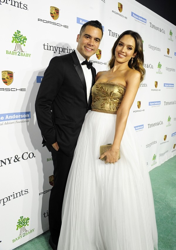 Cash Warren e Jessica Alba (Foto: Getty Images)