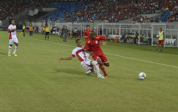 América-RN x CRB, Arena das Dunas (Foto: Marcelo Montenegro/Futebol Potiguar)