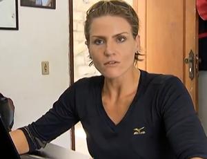 Bianca Miarka, remadora (Foto: Reprodução SporTV)