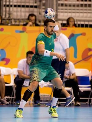 Zeba é o capitão da seleção brasileira de handebol masculino (Foto: Cinara Piccolo/Photo&grafia)