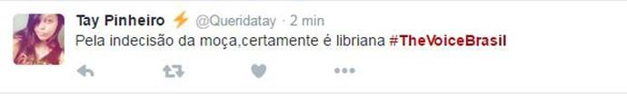 Tweet Nira Duarte (Foto: Reprodução da Internet)