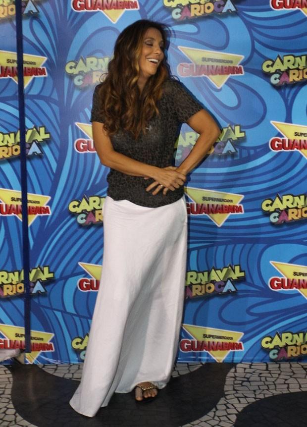Ivete Sangalo (Foto: Marcos Ferreira/Foto Rio News)