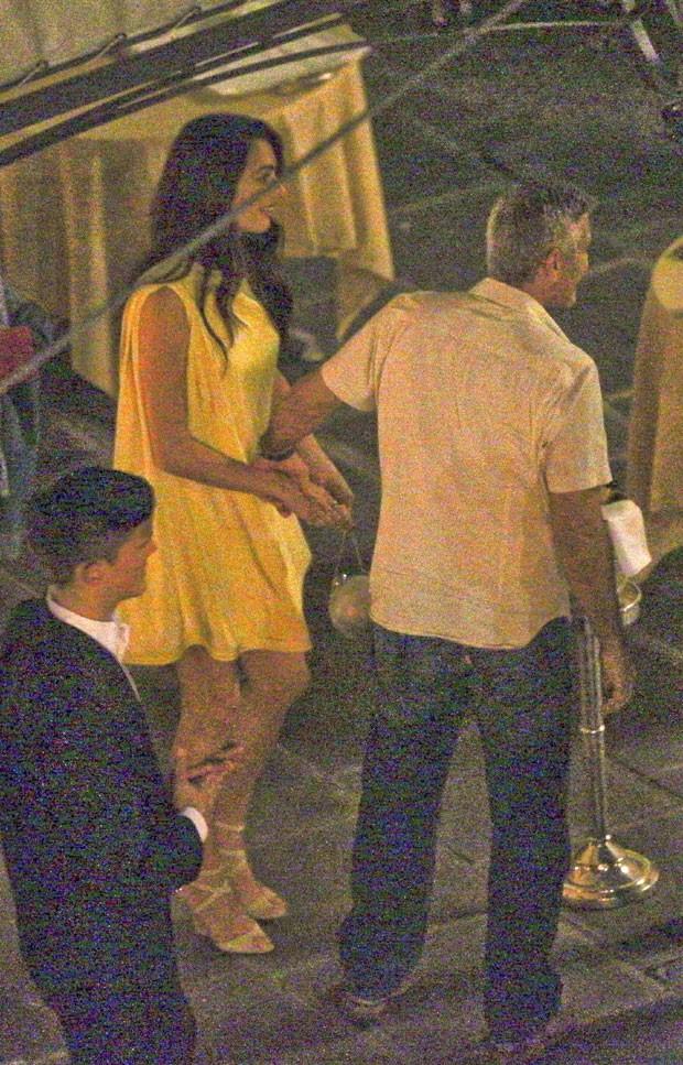 George Clooney e Amal Alamuddin (Foto: AKM/GSI)