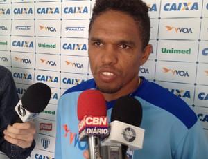Márcio Diogo meia atacante Avaí (Foto: Marcelo Silva)