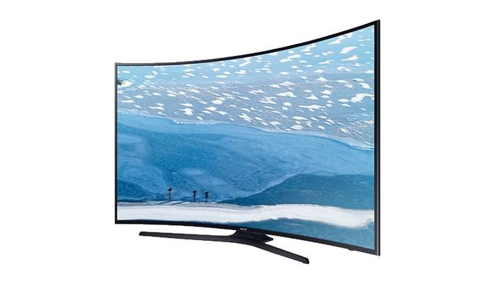 Smart TV da Samsung tem tela curva de 40 polegadas em 4K (Foto: Divulgação/Samsung)
