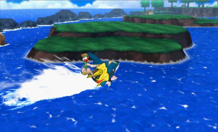 Novo sistema substitui HMs em Pokémon Sun e Moon (Foto: Divulgação/Nintendo)