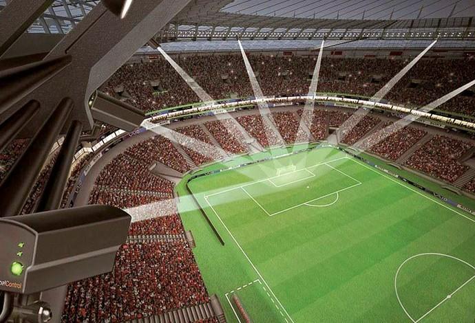 sistema tecnologia gol Fifa campo (Foto: EFE)