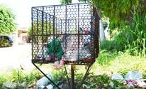 Em Santarém, colocar lixo na rua fora do dia e horário da coleta gera multa (Adonias Silva/G1)