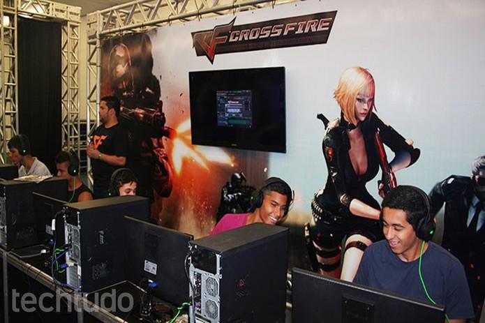 Torneios de Crossfire também prometem agitar todo o evento  (Foto: Felipe Vinha/TechTudo)