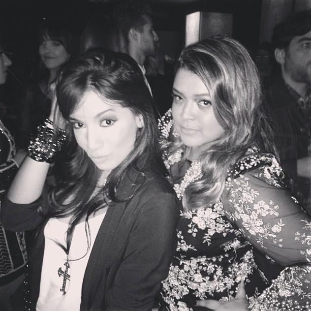 Preta e Anitta (Foto: reprodução/Instagram)