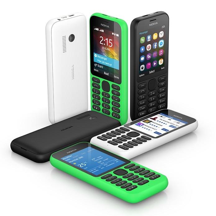 Nokia 215 é o novo smart 'baratinho' da Microsoft (Foto: Divulgação/Microsoft)