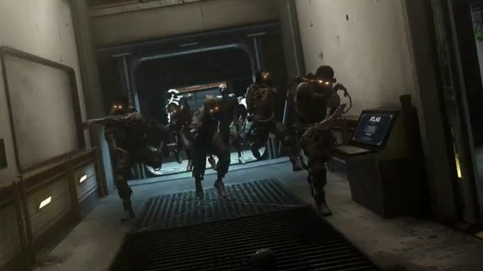 Modo Exo Zombies trará zumbis de volta para Call of Duty: Advanced Warfare, mais mortais do que nunca (Foto: Reprodução: YouTube) (Foto: Modo Exo Zombies trará zumbis de volta para Call of Duty: Advanced Warfare, mais mortais do que nunca (Foto: Reprodução: YouTube))