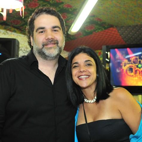 Filipe Miguez e Izabel de Oliveira, autores de 'Cheias de charme' (Foto: João Miguel Júnior/TV Globo)