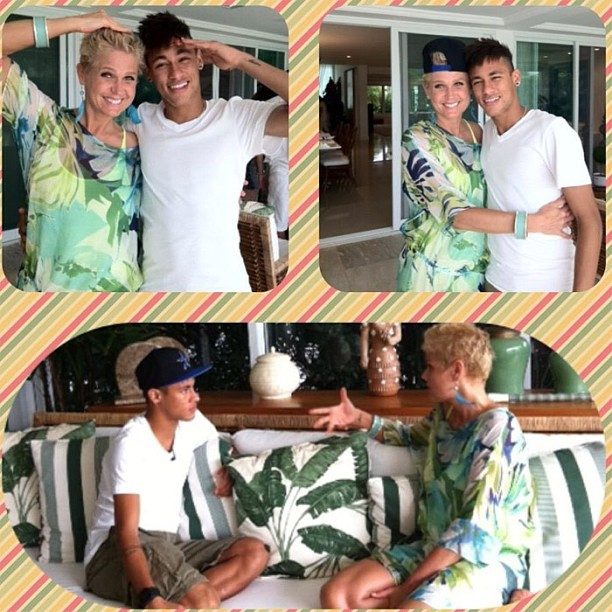 Neymar e Xuxa (Foto: Reprodução  / Instagram)