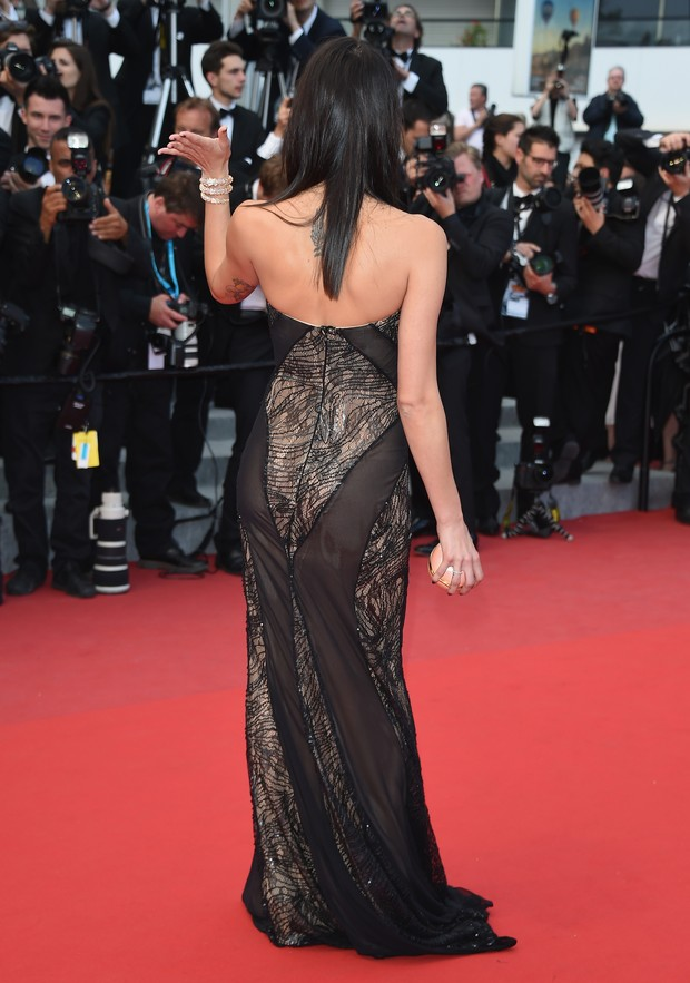 Isabelli Fontana no Festival de Cannes (Foto: Getty Images)