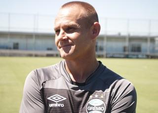 Rogerinho Rogério Dias preparador físico Grêmio (Foto: Eduardo Moura/GloboEsporte.com)