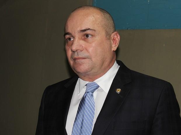 Secretarua de Justiça, deputado Henrique Rebelo (Foto: Gil Oliveira/ G1)