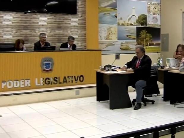 Sessão  (Foto: Reprodução / TV TEM)