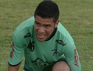 Marcus Vinícius, meia do Estrela do Norte (Foto: Reprodução/TV Gazeta Sul)