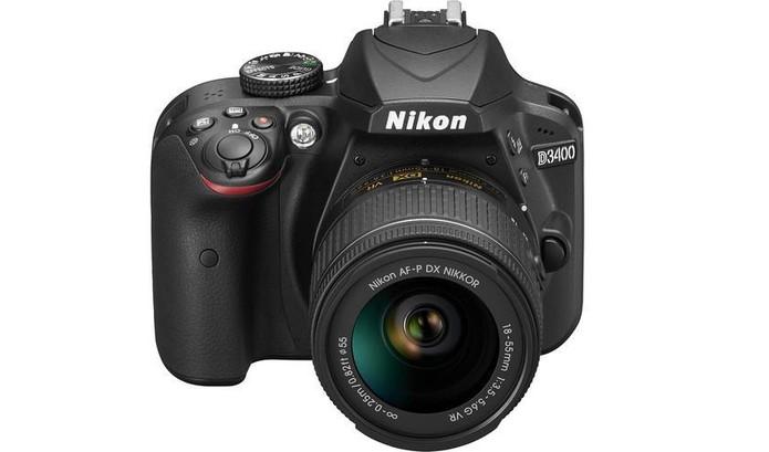 Nikon D3400 oferece Bluetooth e gravação em Full HD (Foto: Divulgação/Nikon)