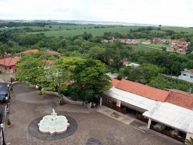 Comunidade de Santa Olímpia, em Piracicaba (Foto: Fernando Galvão/Jornal O Tirolês)
