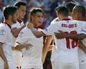 Ganso brilha com assistência de calcanhar, e Sevilla vence o Alavés