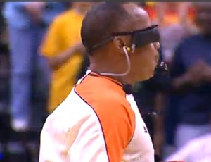 Arbitro Lamont Simpso WNBA (Foto: Reprodução / Youtube)