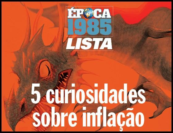 Lista - 5 curiosidades sobre a inflação em 1985 (Foto: Ilustração: Lézio Júnior )