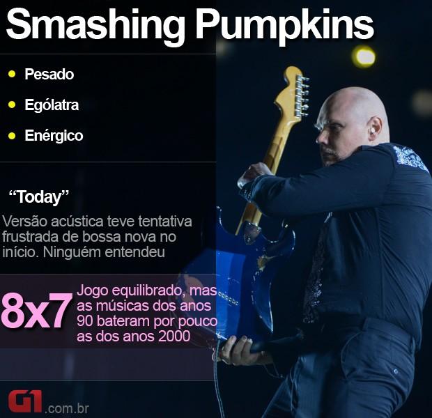 Smashing Pumpkins - resumo (Foto: Flavio Moraes/G1)