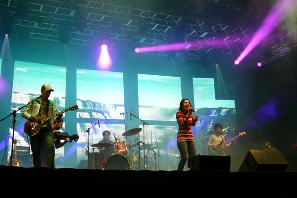 show das cataratas (Foto: Divulgação/RPC TV)