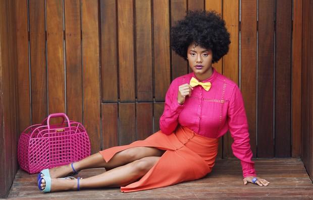 Jéssica Ellen em ensaio de moda para o EGO (Foto: Marcos Serra Lima/EGO)
