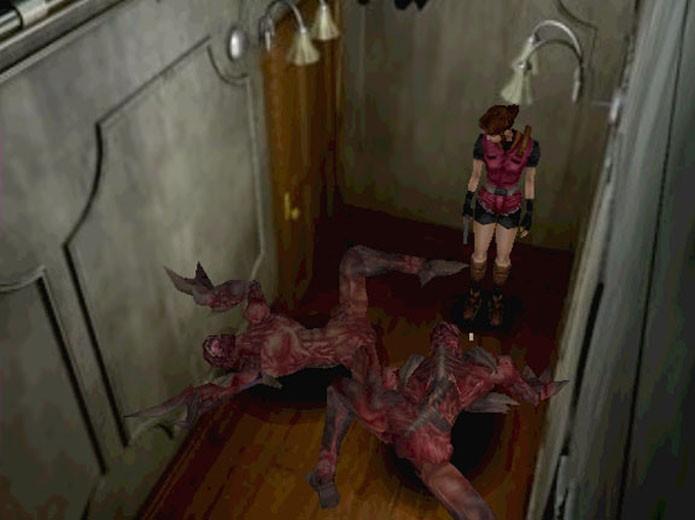 Resident Evil 2 para Nintendo 64 trouxe bons gráficos para a época (Foto: Divulgação)