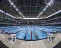 Piscina agrada nadadores, mas calor volta a ser problema em evento-teste