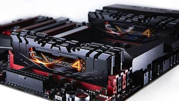 G.Skill leva versão DDR4 das Ripjaws a novo recorde de velocidade (Foto: Reprodução/Hexus)