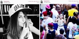 Veja o antes e depois do carnaval do Rio de Janeiro no Instagram (Reprodução/ Instagram/ Fepaesleme)