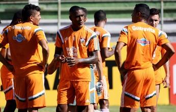 Gerson reaparece, e Flu treina com Diego Souza na equipe titular