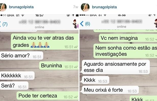 Modelo fotográfica Bruna Cristine Menezes de Castro debochava de vítimas em Goiás (Foto: Reprodução/Instagram)