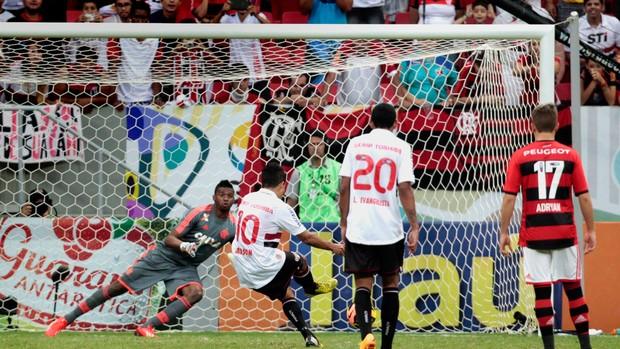 Felipe Flamengo x São Paulo (Foto: Jorge William / Agência O Globo)