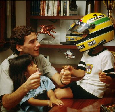 Bruno Senna faz homenagem ao tio Ayrton (Foto: Reprodução/Instagram)