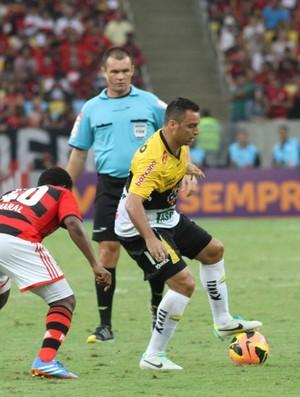 daniel carvalho meia criciúma Flamengo (Foto: Fernando Ribeiro / Criciúma EC)