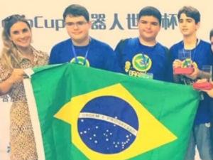Estudantes alagoanos conquistam prêmio  (Foto: Reprodução/TV Gazeta)