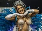 Musas do carnaval de São Paulo; FOTOS (Caio Kenji/G1)